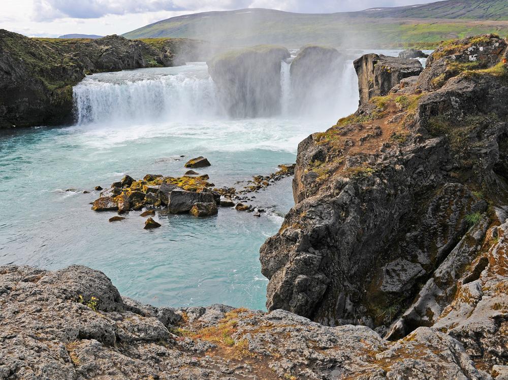 Godafoss Wasserfall in Island