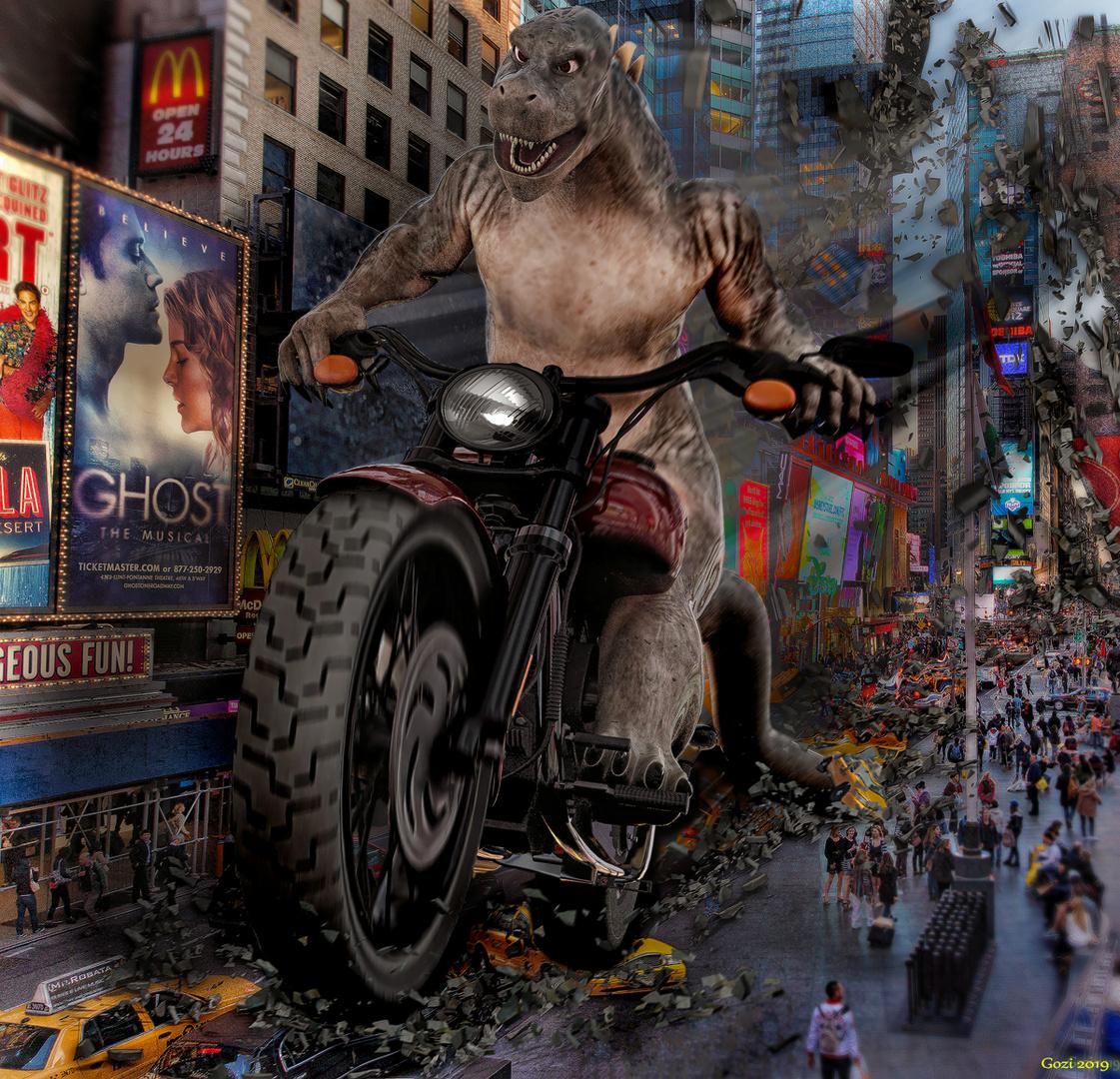 -Godzi in New York-