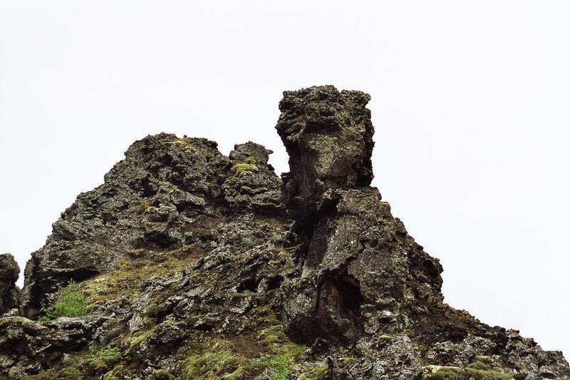 Godzilla aus Lava