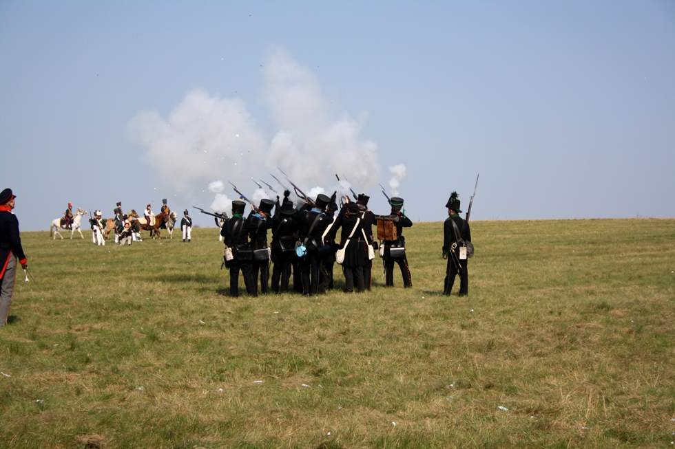 Göhrde Schlacht im Jahre 1813 ....