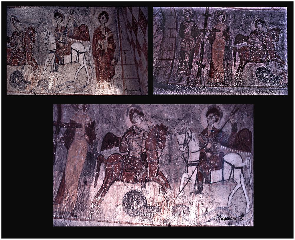 Göreme - Höhlenklöster - Scan vom Dia von 1985-1