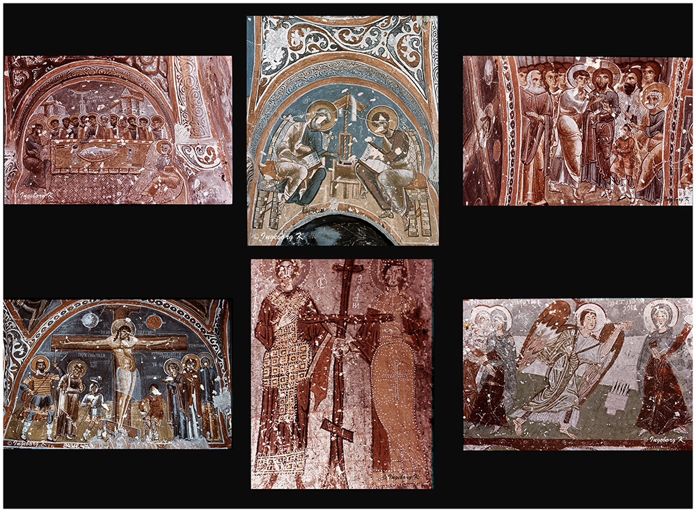 Göreme - Höhlenklöster - Scan vom Dia von 1985-2