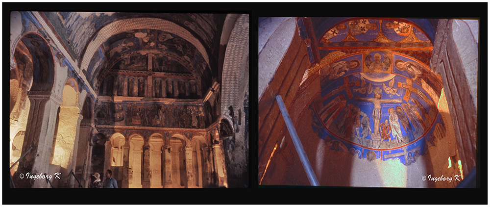 Göreme - Höhlenklöster - Scan vom Dia von 1985-6