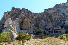 Göreme - Höhlenklöster und Wohnungen