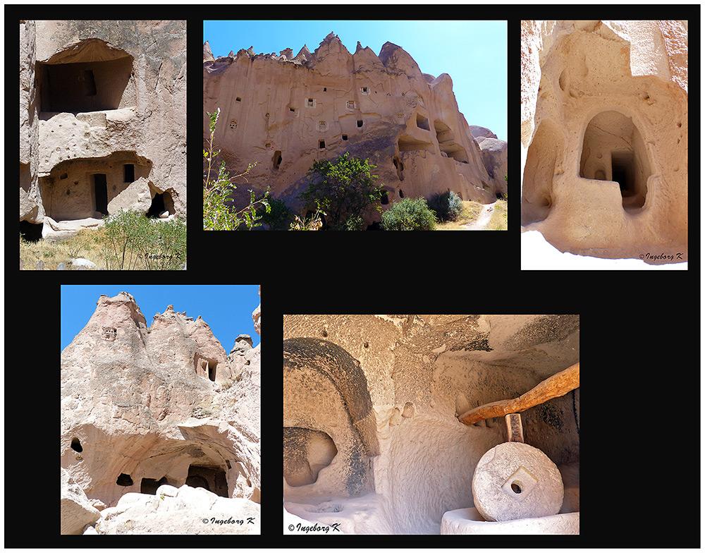 Göreme - Höhlenwohnungen