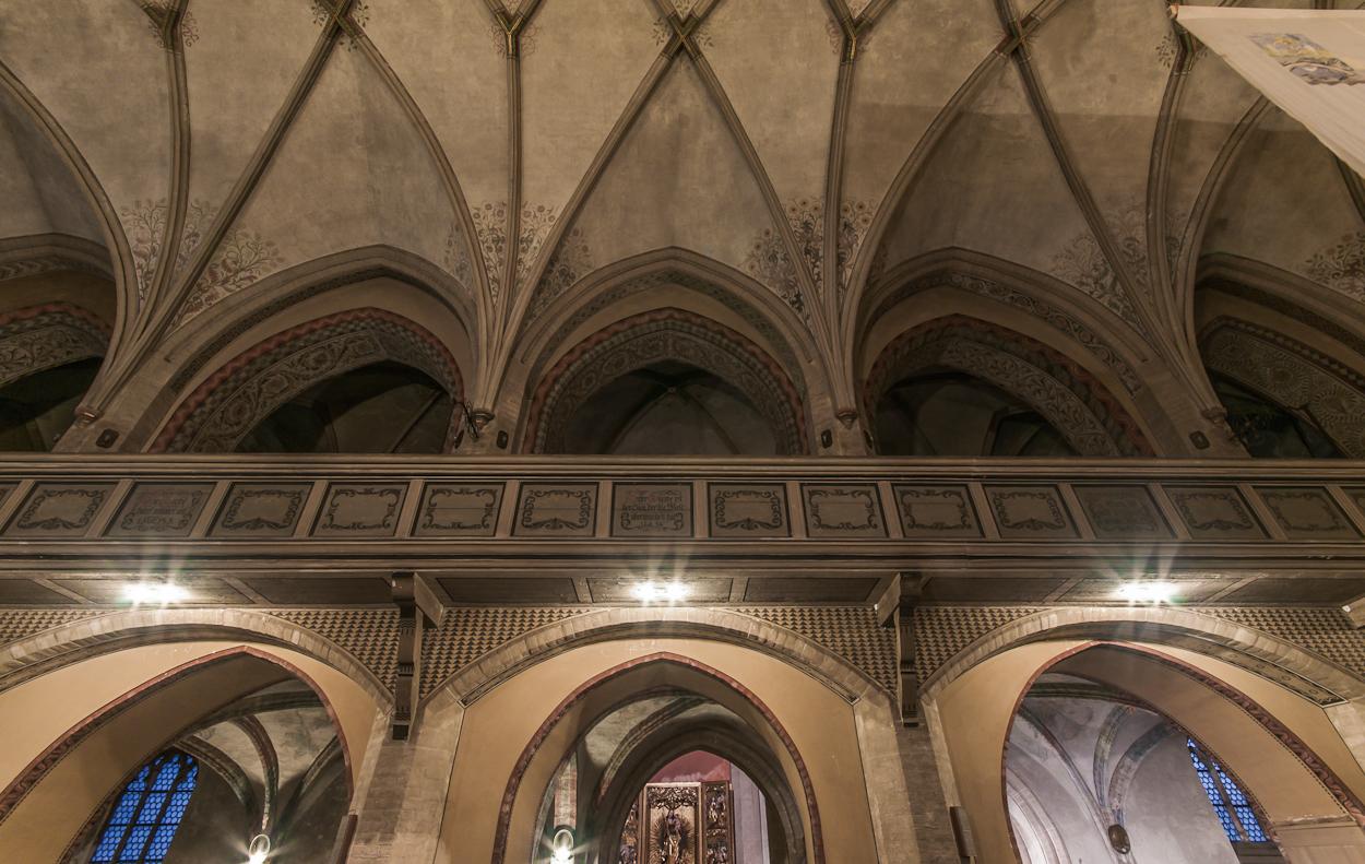 Görlitz... #33 - Dreifaltigkeitskirche Zwischengeschoss