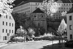 Görlitz - Zwinger mit Hotherturm