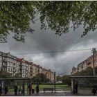 Göteborg im Regen