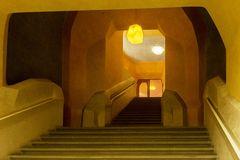 Goetheanum in Dornach - Aufgang zum Treppenhaus