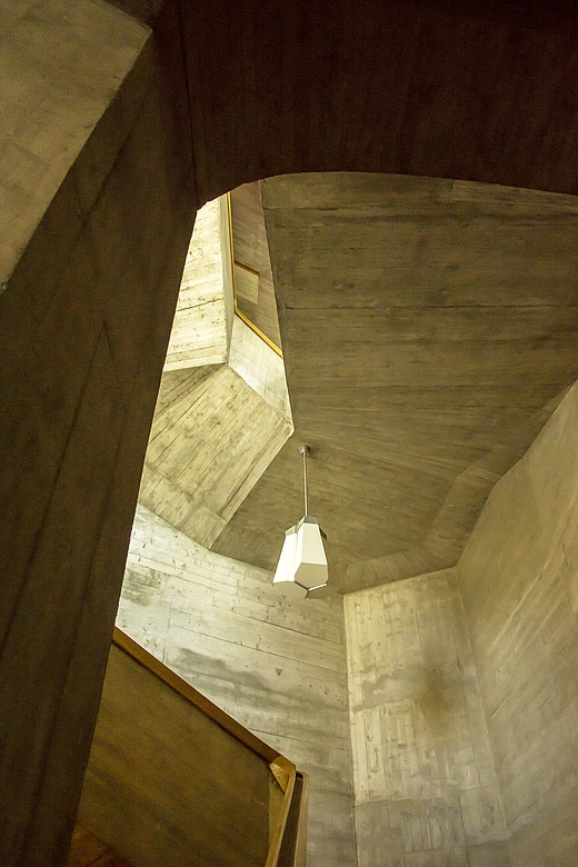 Goetheanum in Dornach - Treppenhaus 01