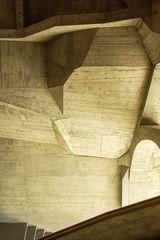 Goetheanum in Dornach - Treppenhaus 04
