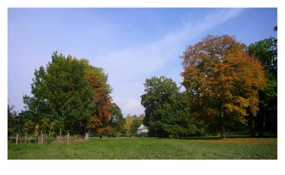 Goethes Sommerhaus im Park zu Weimar