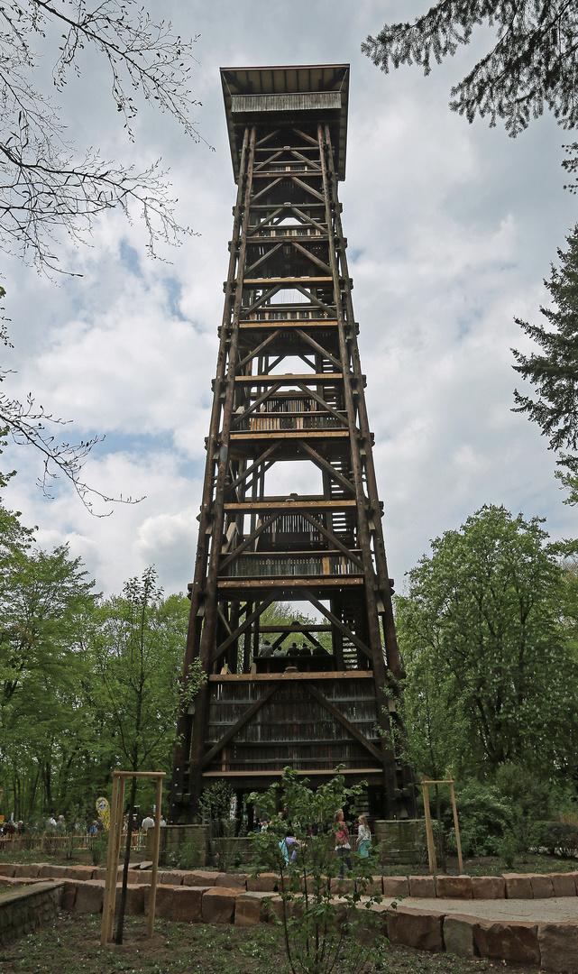 Goetheturm In Frankfurt