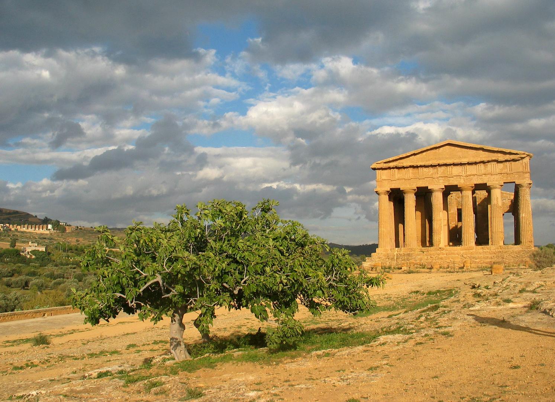 Götterstimmung in Agrigent, Sizillien