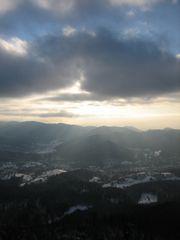 göttliches Winterlicht