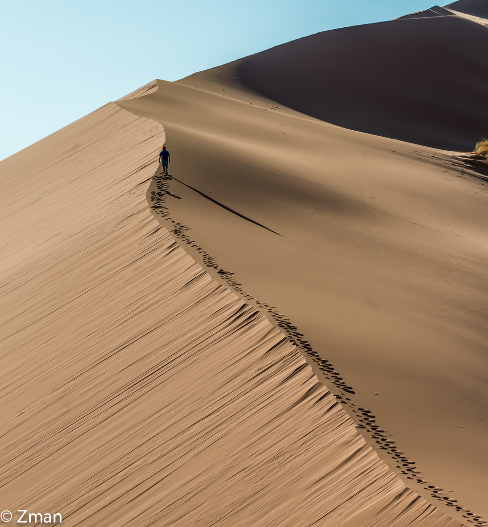 Going Up The Dunes 01