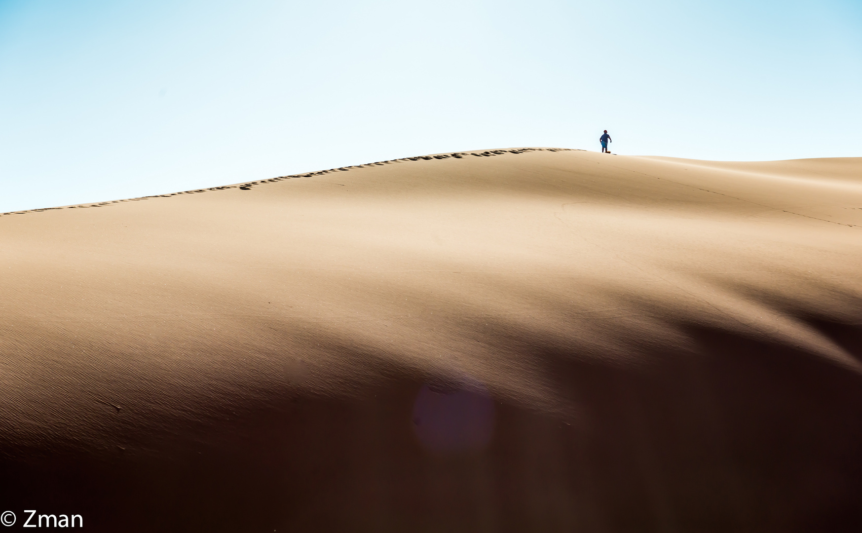 Going Up The Dunes 02