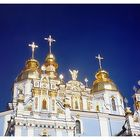 Golden domes of Kiev