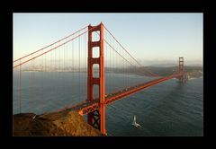[ Golden Gate at Sunset ]