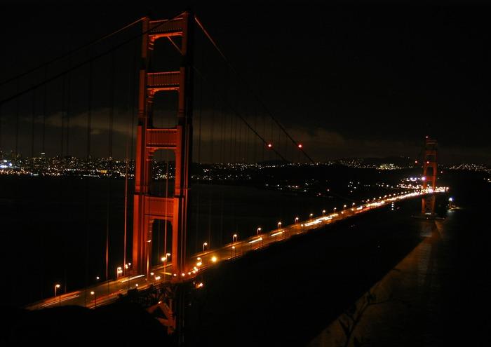 "Golden Gate ""by"" Night"