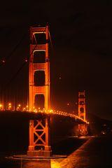 Golden Gate @ night