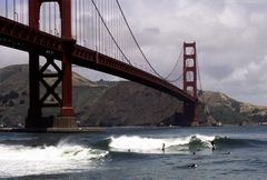 Golden Gate Surfer
