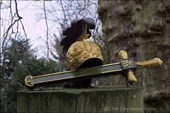 . . . golden helm & schwert auf dem melaten . . .