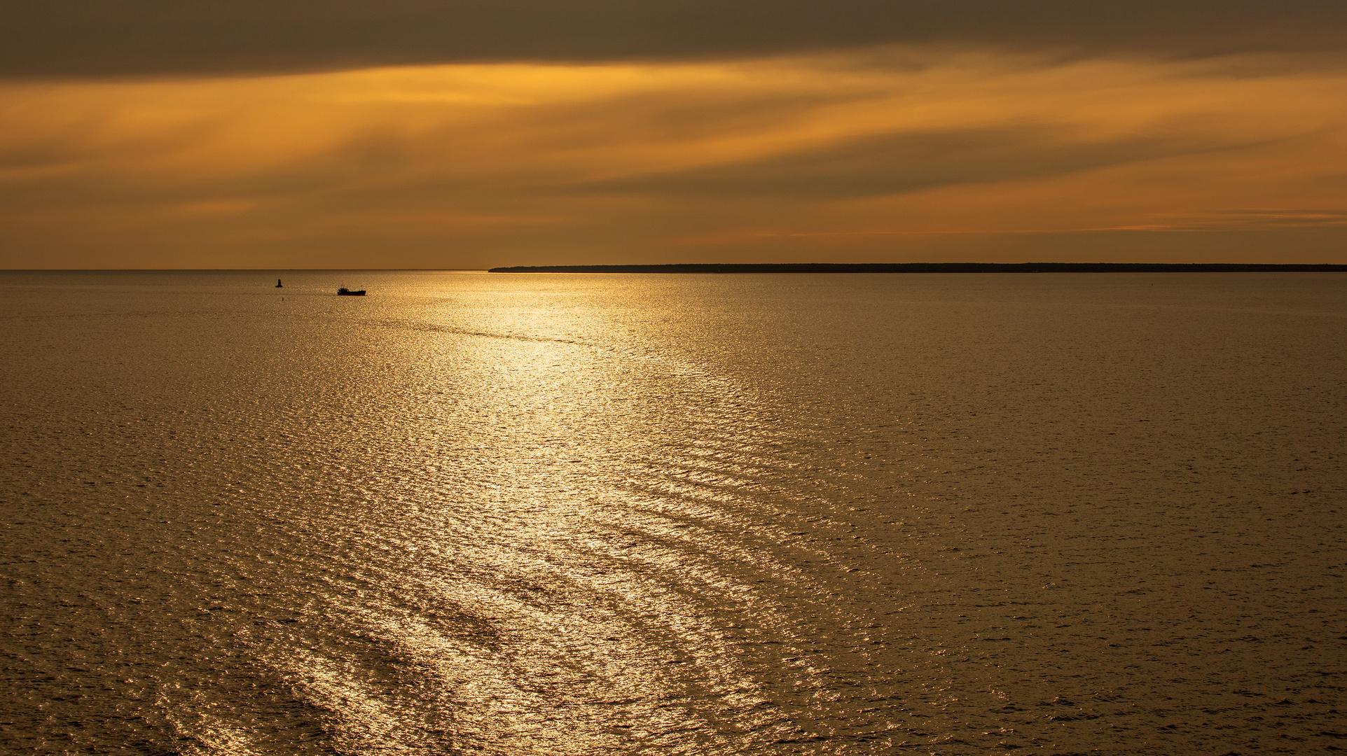 Golden Hour, bei Tallin, Ostsee I
