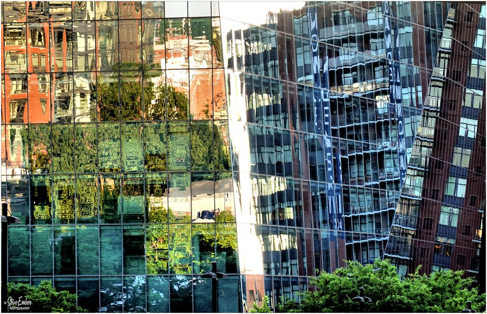 Golden Hour Reflections - A NoMa Impression