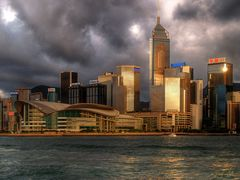 Golden Light on Hongkong Island
