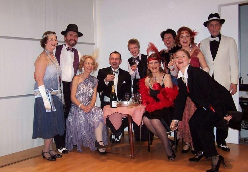 Golden Twenties Tänzer