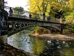"""""""Goldene Brücke"""" - Hofgarten Düsseldorf"""