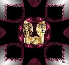 goldene Cobras