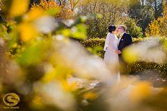 Goldene Herbst-Hochzeit