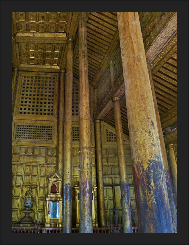 Goldene Innenräume