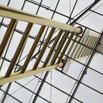 Goldene Leiter im Forum Duisburg