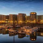 Goldene Licht über Five Boats