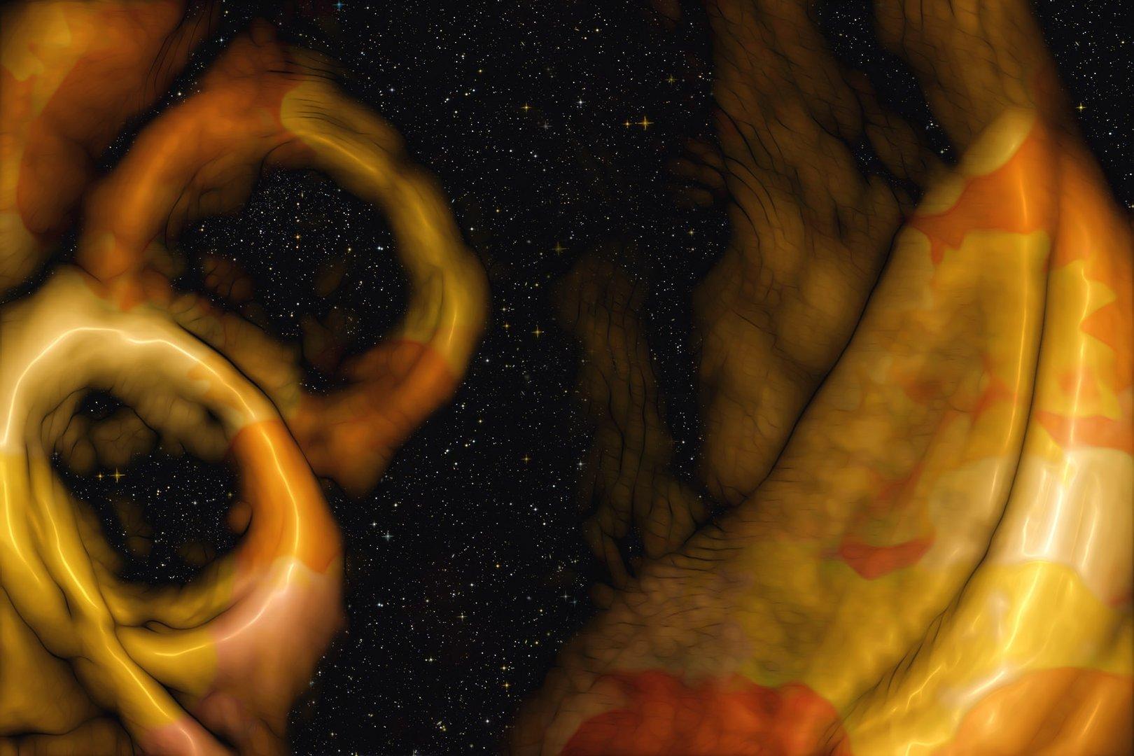 goldene ringe im universum ...