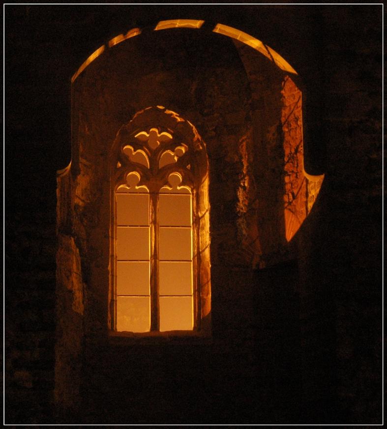 goldene Ruine