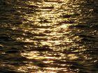 goldene Spiegelungen