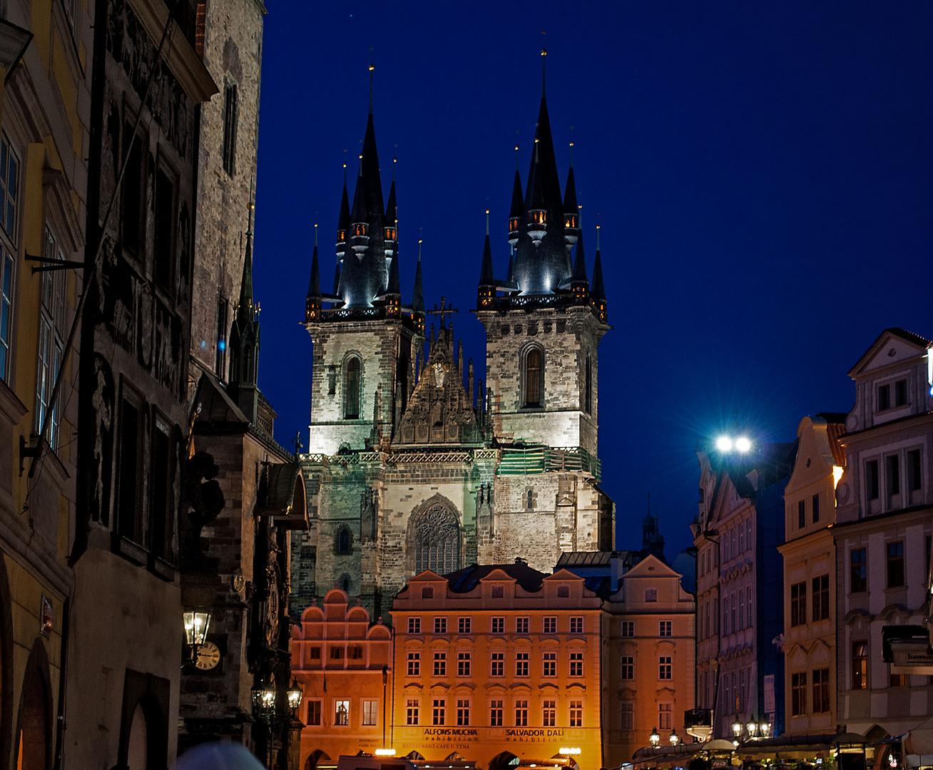 Goldene Stadt Prag - Teynkirche