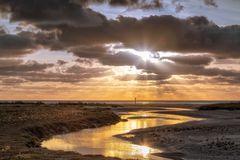 Goldene Stunde am Südstrand