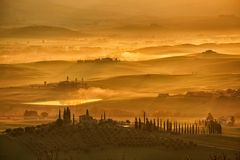 Goldene Toskana