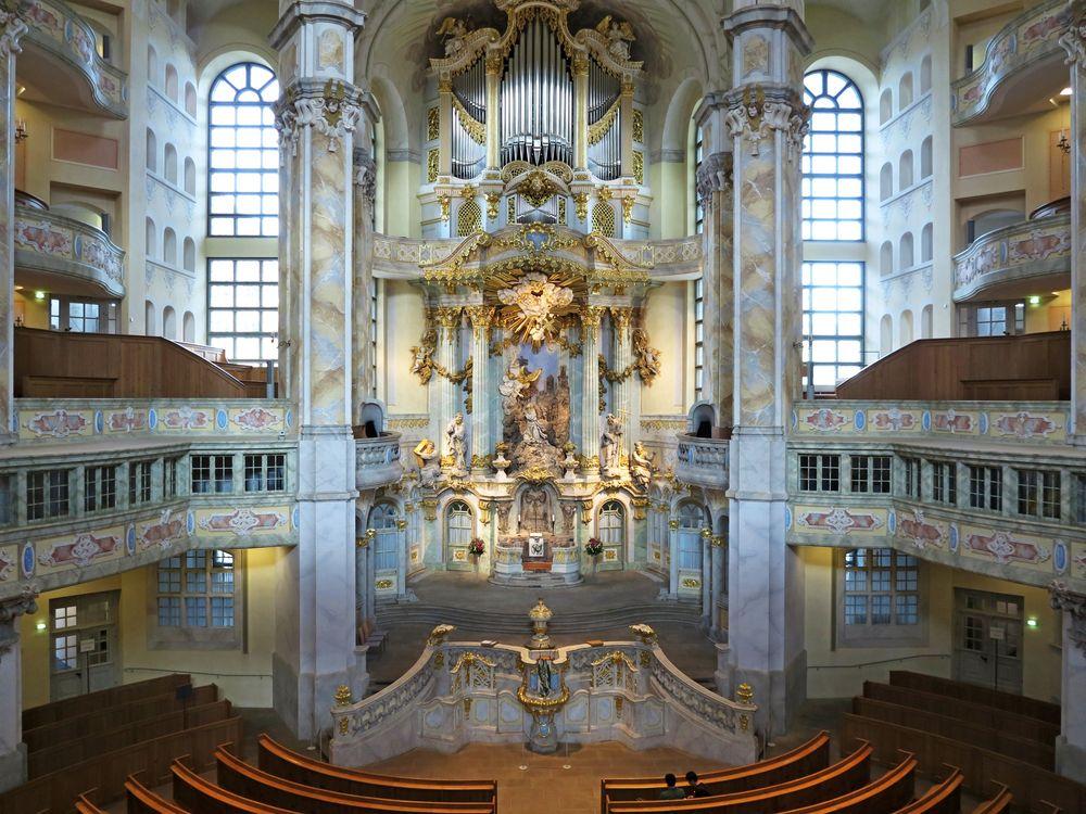 Goldene Zeiten... endlich wieder für die Frauenkirche Dresden