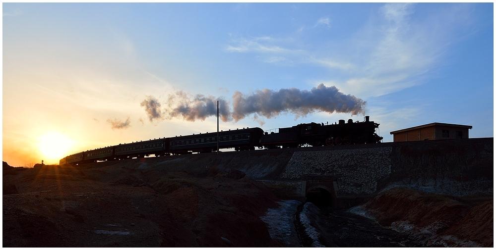 Goldener Dampf im silbernen Land - Baiyin 2013 - II