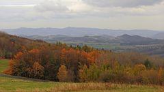 Goldener Herbst auch noch ganz oben in Tschechien...