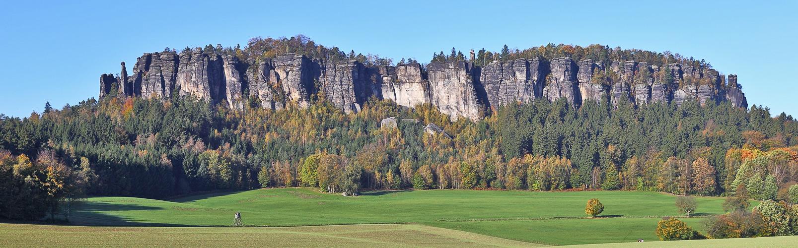 Goldener Herbst in der Sächsichen Schweiz...