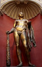 Goldener Herkules
