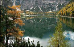 Goldener Oktober im Pragser Tal (1)