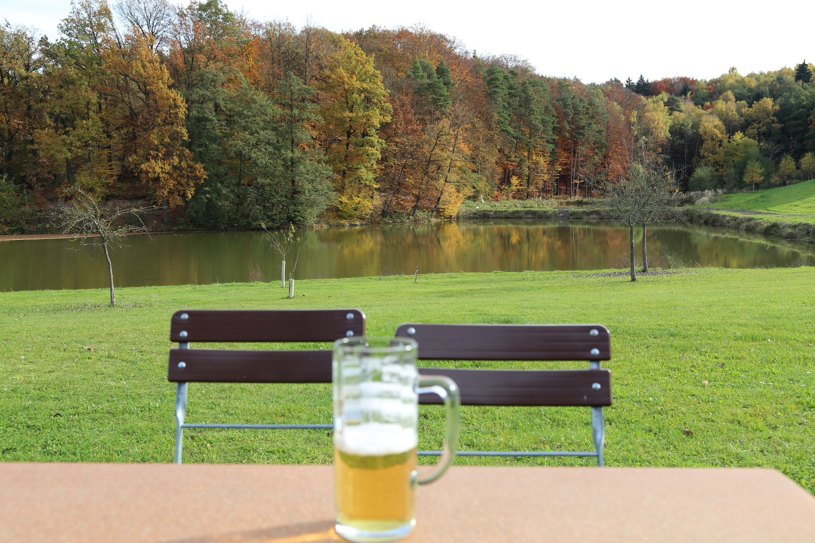 Goldener Oktober in Obermembach